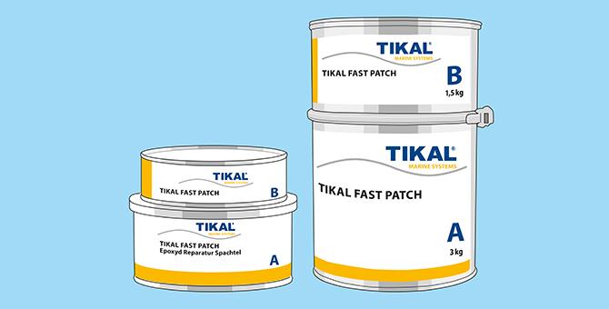 TIKAL – EPOXI KIT / TIKAL FAST PATCH
